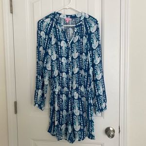 Lilly Pulitzer Long Sleeve Romper